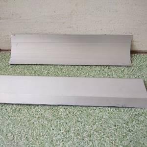 Cove aluminium pembentuk siku